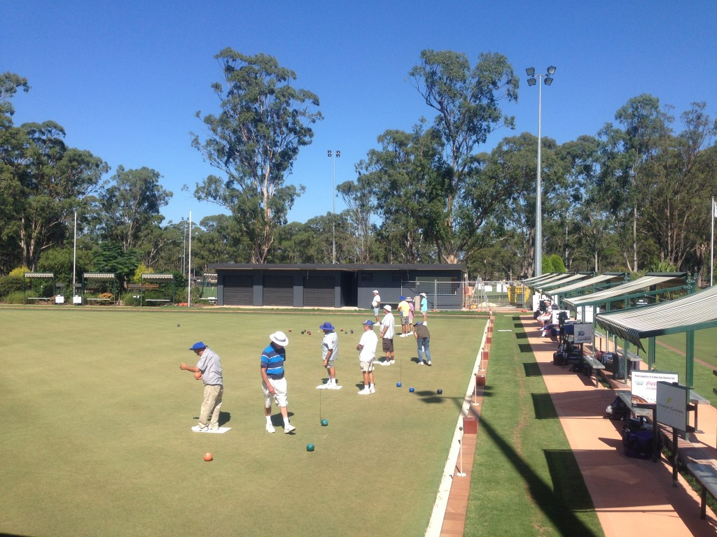 St Johns Park Bowling Club, Greens access civil works
